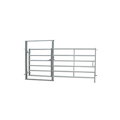 1525mm high 6 rail hurdles coupled with 1050mm diverter gate built into the frame