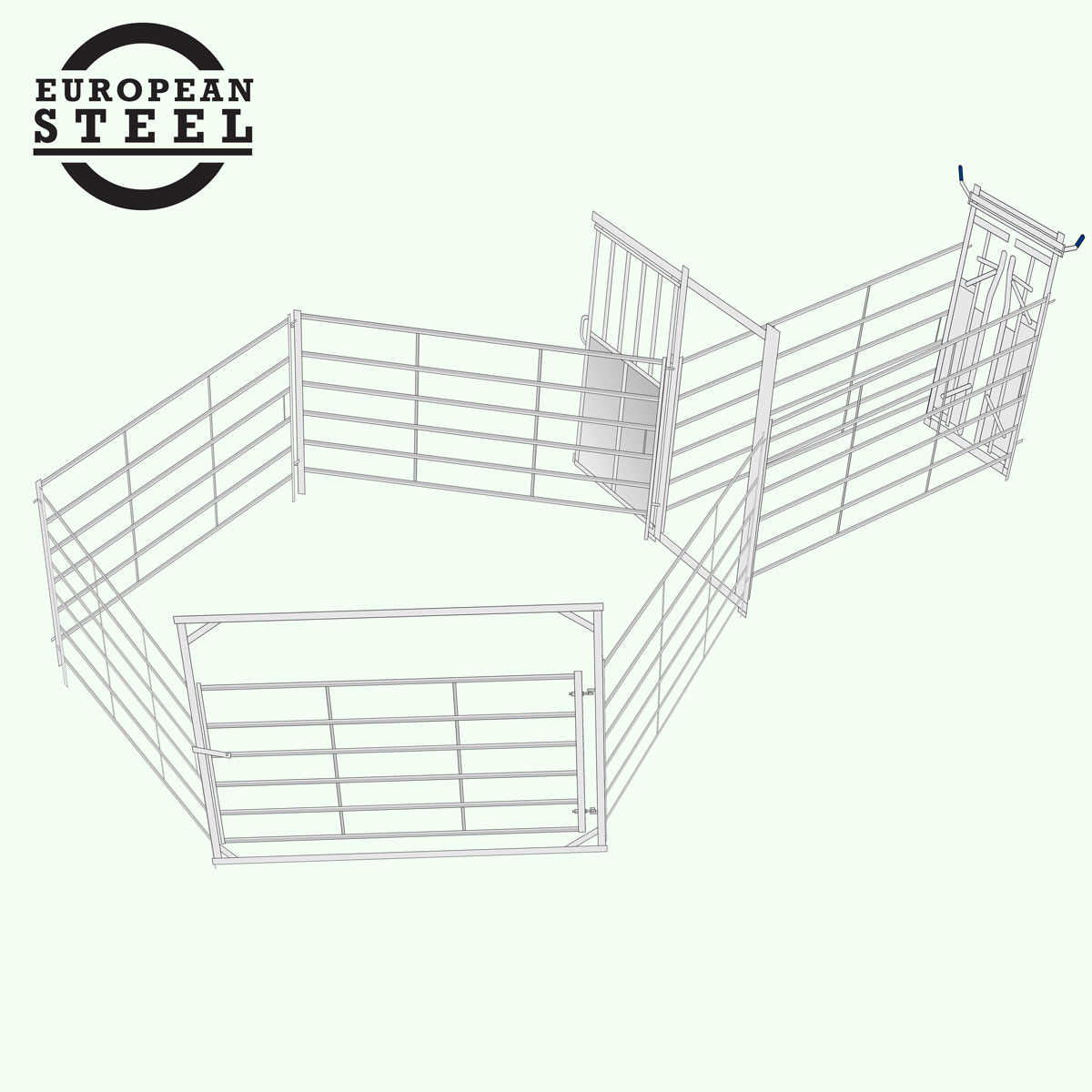 Cattle Yard Easy Handler AUTO : Up to 10 head